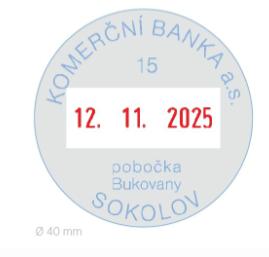 Colop R 3040, R3040 Expert Line Microban, datumovka, datumové razítko, 4mm