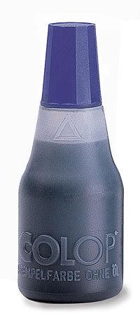 Razítková barva Colop, černá, 25 ml