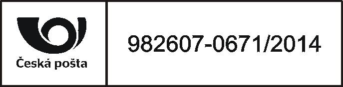 Poštovní razítko pro označování zásilek