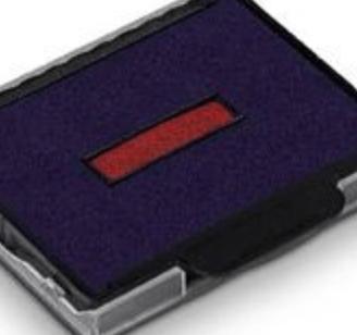 dvoubarevný pro datumovky modrá/červená