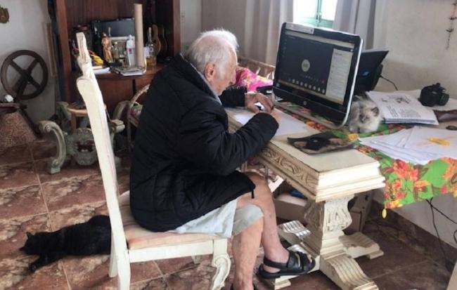 senhor universitário 92 anos 2