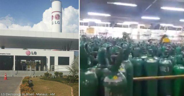 LG Manaus doa todo seu estoque de oxigênio para salvar pacientes com coronavírus 2