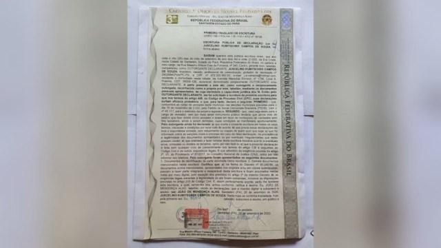 Após registro em cartório, vereador do Pará doa 1º salário para lar de idosos 2