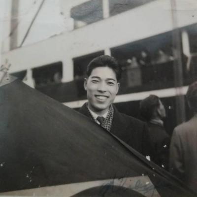 foto antiga japones chegando Brasil