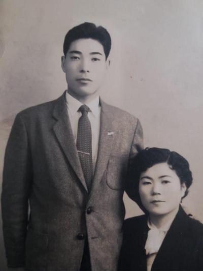 foto antiga casal japoneses