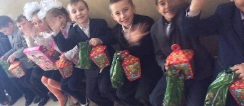 Gifts for Karapchivskiy Orphanage