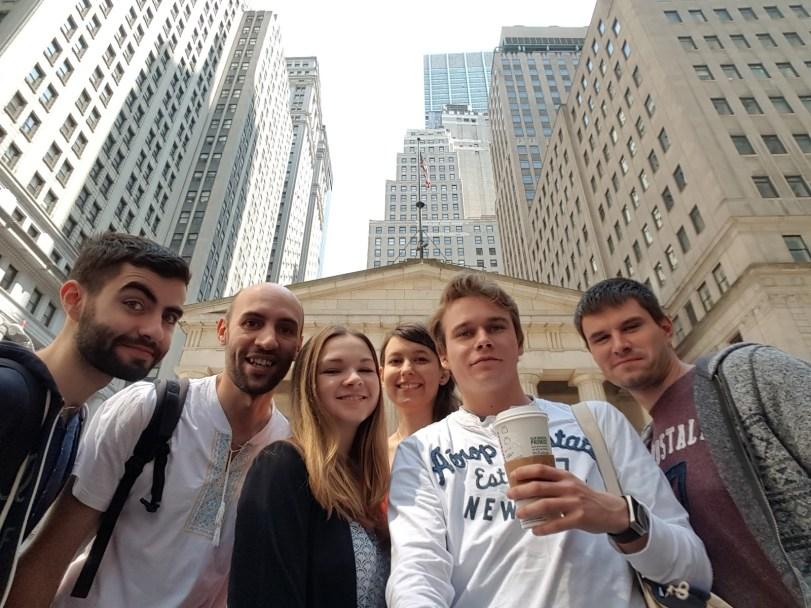 Exploring Wall Street #selfiestick