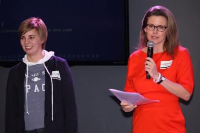 Lyuba Shipovich and Dora Chomiak