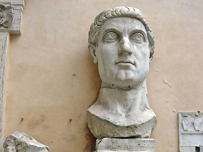 Resultado de imagen de constantino i emperador busto