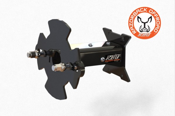 Adjustable Spare Tire Mount for UTV and Side by Side