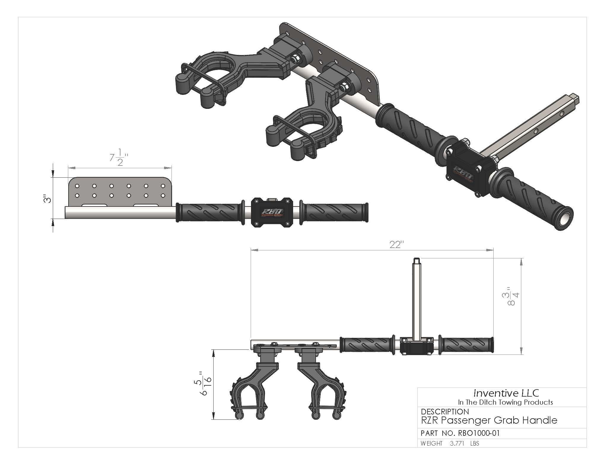 Polaris Rzr Ultimate Gun Rack