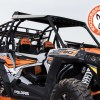 Folding Windshield and Sherpa Cargo Rack for Polaris RZR 1000 UTV and Side by Side