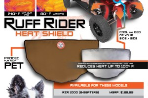 UTV Heat Shield