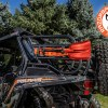 Shovel mounted on Polaris RZR 900 with the It Fits Universal Mount and RBO Rack