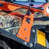 Rubber stopper and mount on the Front Folding Glass Windshield for the Polaris RZR 800