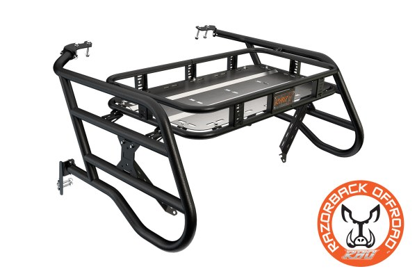 Polaris 1000 sherpa Cargo Rack Powdercoat-Black Accessories for UTV and Side by Side