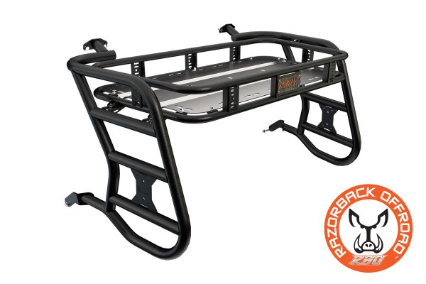 Polaris 900 Sherpa Cargo Rack Powdercoat-Black