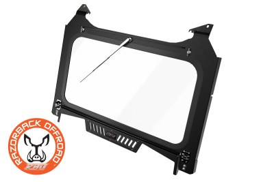2019 RZR Turbo S Glass Windshield