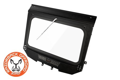Front Folding Glass Windshield for Can-Am Maverick UTV and Side by Side