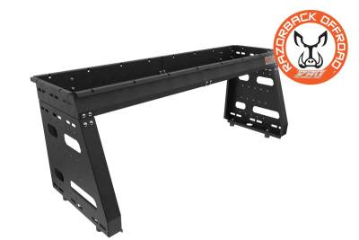 Powder Coated Black Polaris Ranger Utility Rack