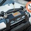 Hood mount for Polaris Ranger glass windshield