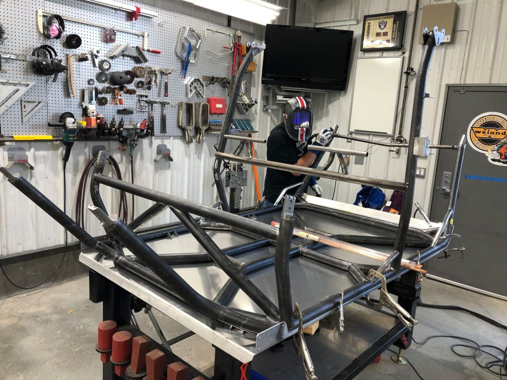 Roll Cage Welding Assembly for Polaris RZR Turbo S Custom UTV SEMA Build