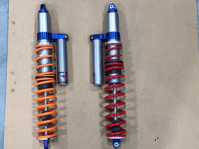 Shocks Suspension Springs for Polaris RZR Turbo S Custom UTV SEMA Build