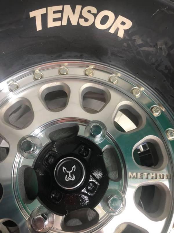 Tensor Tires Method Racing Wheels for Polaris RZR Turbo S Custom UTV SEMA Build