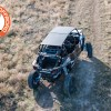 Trail riding with the Polaris RZR XP Turbo S 4 seater and third party aluminum roof and cargo supply rack