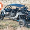 Cargo Rack and powdercoated Aluminum Roof for Polaris RZR XP Turbo S 4 seater side by side