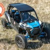 Added aluminum tough powder coated roof to RZR Turbo S 1000 4-seater