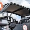 Stock Polaris Turbo S 4 Seat with heavy duty Aluminum Roof