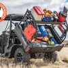 Razorback Offroad Can-Am Defender Utility Cargo Rack Loaded Dumping