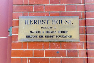 Herbst House Plaque