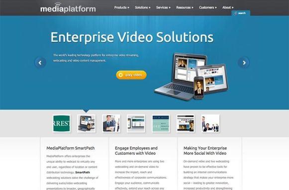 MediaPlatform Previous Site Home Page