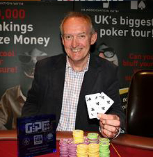 GUKPT Aberdeen Summer Series Champion John Angus. Image courtesy of BlueSquare/GUKPT