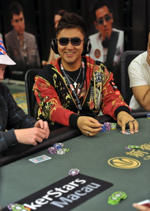 Bryan Huang, image courtesy of PokerStars blog