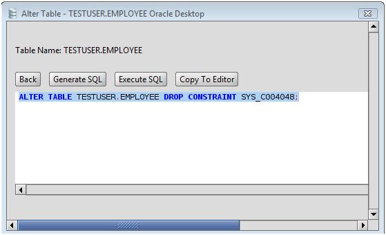 how to create foreign key in oracle sql developer
