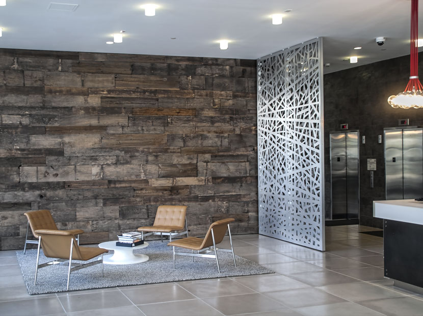 wall panels for living room images of rooms with wood floors razortooth design llc. | architectural screens, lobby ...