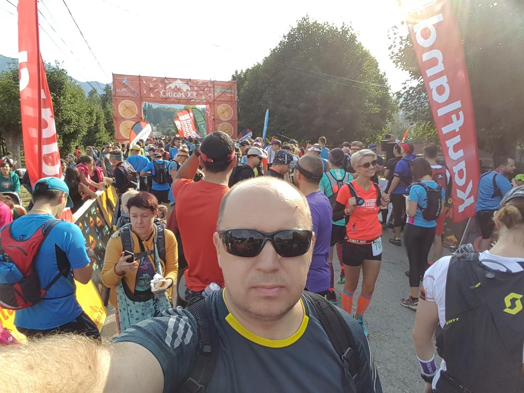 Razvan Dobre la Ciucas Trail Running