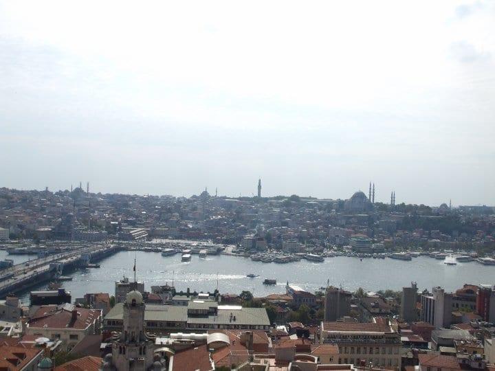 Terasa hotel -vacanță la Instanbul