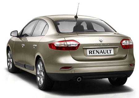 Renault-Fluence din spate...