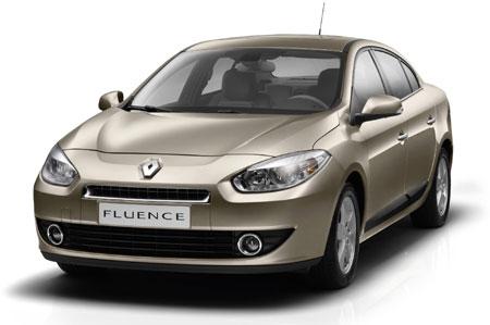 Renault Fluence. Masina testata in Romania.
