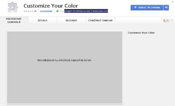 Google Chrome Web Store virus