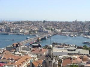 Istanbul podul galata peste cornul de aur