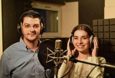 Razvan Pascu si Alexandra Usurelu in campania ING Bank