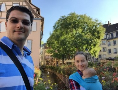 Familia Pascu in Franta
