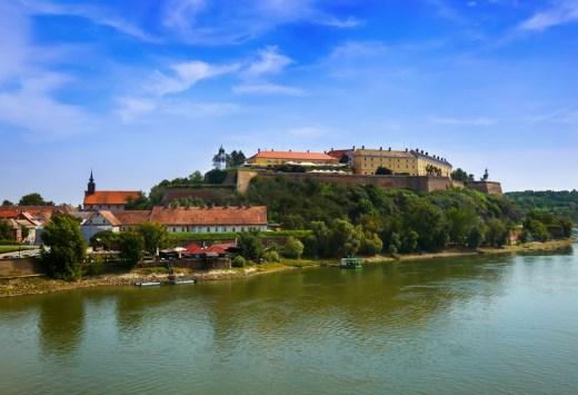 Petrovaradin fortress in Novi Sad, Copyright Tatiana Popova
