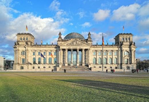 Reichstag building in Berlin, Copyright Mikhail Markovskiy
