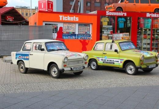 Trabant cars, Copyright Tupungato